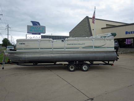 2000 Smokercraft 824 Sun Sport Pontoon