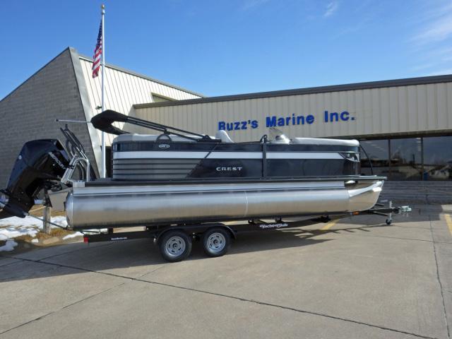 Crest III 220SLC Triple Toon for sale | Buzz's Marine | New